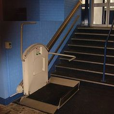 Garaventa incline wheelchair lift xpress ii incline for Garaventa lift