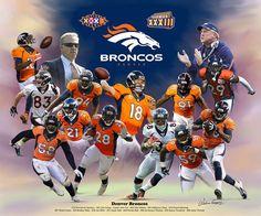 Denver Broncos (2014) by Wishum Gregory