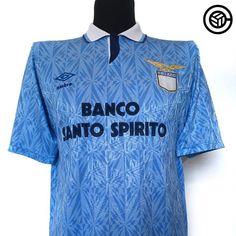 1990-91 Lazio M 54.99 20% off this w/e Link in bio  @cultfootball  #lazio #sslazio #umbro #umbrofootball #football #footballshirt #footballshirtcollective #seriea #italyfootball