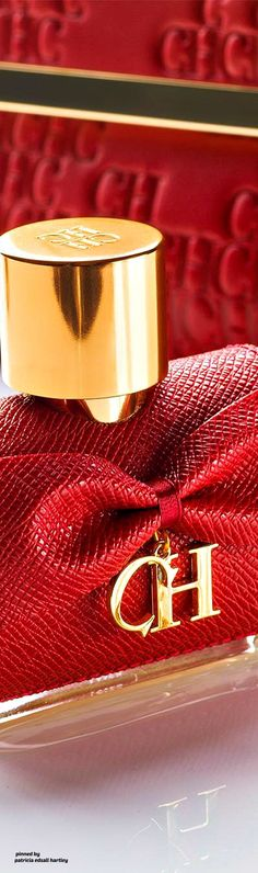 Colors Of Fire, Perfume, Barbie Accessories, Gold Style, Bold Prints, Red Fashion, Pantone Color, Carolina Herrera, Ruby Red