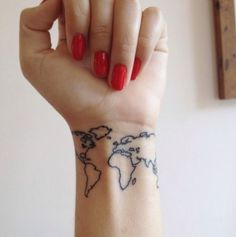Love this!! Imagine putting a star or check mark on every country you visit :)