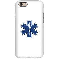 EMS EMT Rescue Logo iPhone 6 Tough Case