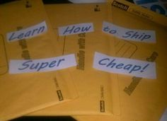 ***Learn How to Ship Cheap****