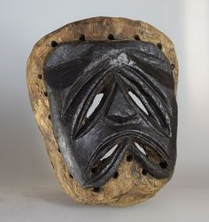 Chewa Nyau Mask - Zambia - Katete District Monochrome, Skull, Spirit, African, Antiques, Ebay, Antiquities, Antique, Monochrome Painting