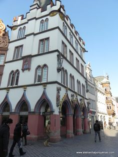 Trier, the oldest city in Germany. Steipe, built in the 15s century, it was formerly used by city councilors as banquet hall