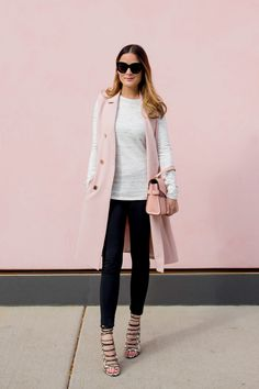 Vince Camuto Long Pink Vest fall coats for women chic Vest Outfits For Women, Fall Outfits For Work, Western Outfits, Long Vest Outfit, Look Fashion, Womens Fashion, Fashion Trends, Fall Fashion, Cheap Fashion