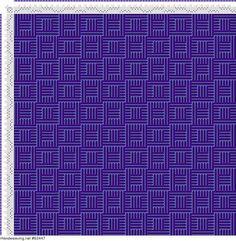 draft image: Karierte Muster Pl. XII Nr. 6, Die färbige Gewebemusterung, Franz Donat, 4S, 4T