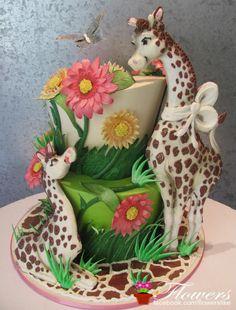 Giraf cake