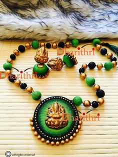 Terracotta Fancy Jewellery, Thread Jewellery, Funky Jewelry, Jewelry Art, Handmade Jewelry, Ceramic Jewelry, Polymer Clay Jewelry, Teracotta Jewellery, Silk Thread Bangles Design