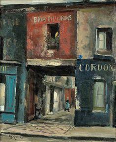 Takanori Oguiss (Japan 1901-1986) Paris.