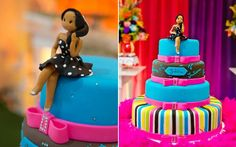 Inspire-se na festa colorida de Juliana Ribeiro