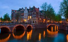 Canales de #Ámsterdam! Una ciudad llena de encanto.
