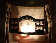 build your own shadow puppet theatre.