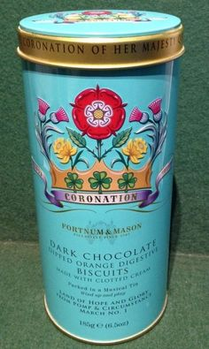 Fortnum & Mason 60th Anniversary Coronation Queen 1953-2013 Musical Biscuit…