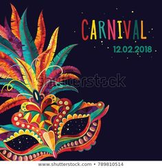 BqyillaYou can find Brazil carnival and more on our website. Carnival Posters, Carnival Themes, Carnival Masks, Carnival Costumes, Brazil Carnival, Trinidad Carnival, Caribbean Carnival, Carnival Themed Party, Circus Party