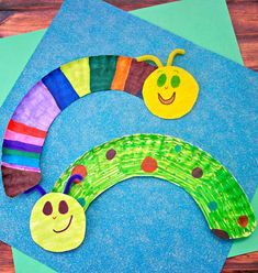 Paper plate caterpillars craft for kids. These would be great for Spring time or for a minibeasts topic Paper plate caterpillars craft for kids. These would be great for Spring time or for a minibeasts topic Daycare Crafts, Preschool Crafts, Spring Crafts For Preschoolers, Preschool Summer Crafts, Spring Crafts For Kids, Kindergarten Crafts, Simple Crafts For Kids, Crafts For Toddlers, Preschool Art Projects