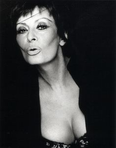 Sophia Loren by Greg Gorman, 2002