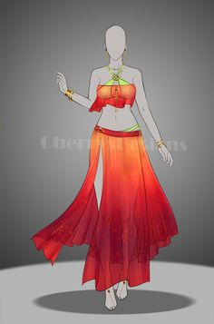 My 1st entry for Anniekitty14 Outfit Design contest I hope you like it. I tried this one for her OC Leimomi, she likes flowy, see through clothing and matching accessories. The theme is tropical fo...