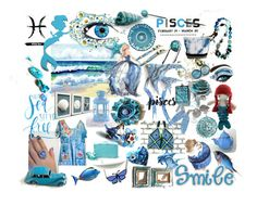 Yes ... I'm a Pisces ! by riagr on Polyvore featuring Kunst, integrityTT, EtsySpecialT, crazy4etsy, etsyfru and etsyevolution