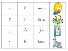 Alfabet kaarte afrikaans Infant Activities, Activities For Kids, Exam Wishes, Afrikaans Language, Teaching Posters, Kids Homework, Future Jobs, School Readiness, Letter Recognition