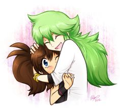 The most adorable ship to have ever been shipped -N and Hilda