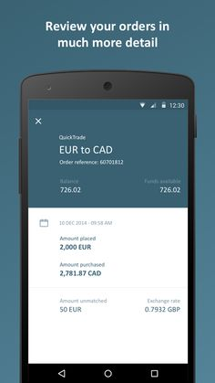CurrencyFair Money Transfer