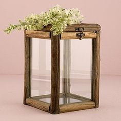 This glass box has rustic appeal perfect for any outdoor shindig or indoor soire with a homespun vibe. Use as a unique wishing well, centerpiece or statement piece for your reception dcor. FeaturesRustic Wood & Glass Box with Hinged LidSpecifications Glass Wedding Card Box, Wedding Welcome Table, Wedding Cards, Rustic Wood, Rustic Decor, Rustic Theme, Rustic Chic, Farmhouse Decor, Wish Box