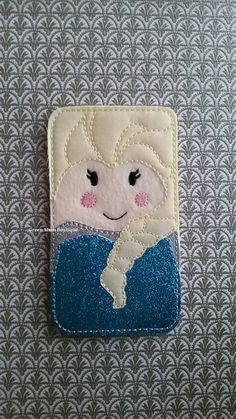 Eco-friendly! Frozen Elsa Inspired iPod iPhone Case Little Girl Birthday Gift Phone/Device Carrier by Green Mom Boutique!