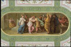 Ritorno di Telemaco ( 1802 ) di Felice Giani. Palzzo Milzetti , Faenza.