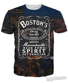 Boston Spirit T-Shirt - RageOn