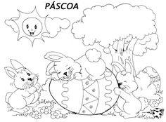 Pedagógiccos: Desenhos sobre o tema Páscoa
