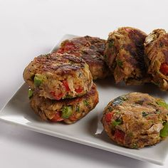 Put mackerel in the mix — these patties are a delicious change of pace from salmon or crab. Mackerel Patties, Salmon Patties, Fish Recipes, Seafood Recipes, Cooking Recipes, What's Cooking, Fish Dishes, Seafood Dishes, Kitchens