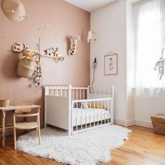 Do It Yourself nursery and baby room decorating! Ideas for you to create a litt. - Do It Yourself nursery and baby room decorating! Ideas for you to create a little heaven on earth - Baby Bedroom, Baby Room Decor, Nursery Room, Kids Bedroom, Bedroom Decor, Girl Nursery, Bedroom Furniture, Nursery Decor, Apartment Renovation
