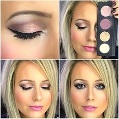 Younique Makeup Looks All Younique products were used to create this look inspired by the new presenters kit. You get this beautiful eyeshadow palette, 3D Mascara, Epic Mascara, Black Eyeliner, and a ton of Eye Shadow Brushes, plus SO MUCH MORE! Find me on Facebook at Younique By Rachele (Rachele Lantz) and let me hook you up! Younique Epic Mascara, 3d Mascara, Eyeshadow Brushes, Eyeshadow Palette, Black Eyeliner, Eye Shadow, Makeup Looks, Lipstick, Kit