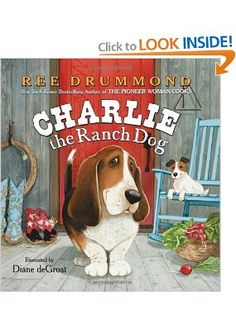 Book, Charlie the Ranch Dog by Ree Drummond