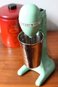 Hamilton Beach DrinkMaster with Stainless Steel by remodernnyc Drink Mixer, Hamilton Beach, Photo Pin, Kitchen Aid Mixer, Milk Glass, Nostalgia, Reception, Mint, Stainless Steel