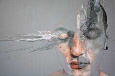 """Immaginandomiti, 130X90 cm, mixed media wood, 2013"" By ""Jessica Rimondi"""