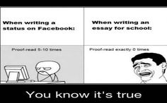 Essay proofreading exercise
