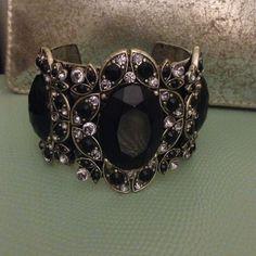 Spotted while shopping on Poshmark: Black cuff bracelet! #poshmark #fashion #shopping #style #Jewelry