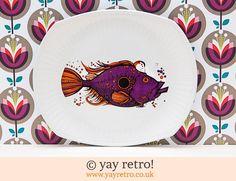 Washington Pottery: John Dory Fish Plate