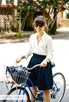 10 ways to dress for biking to work | Kittenhood