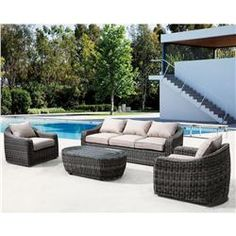 Buy Praia Sofa Light Brown online with free shipping from thegardengates.com