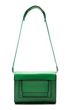 Shop Green Shoulder Bag/Clutch by Pierre Hardy for Preorder on Moda Operandi