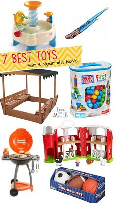 Not sure what toys to get your two year old? Click here for a list of twin-tested, mom-approved toys.