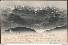 OW Obwalden - Die Berneralpen vom Pilatus, 1901 - Photoglob AK