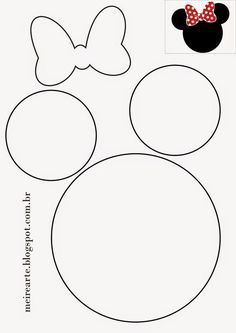 Minnies Kinderparty in 12 sensationellen Tipps! Minnies children's party in 12 sensational tips! Check out! out # Children's party Mickey E Minnie Mouse, Mickey Mouse Crafts, Minnie Mouse Birthday Decorations, Mickey Mouse Birthday, Minnie Mouse Favors, Mickey Mouse Silhouette, Diy Party, Party Favors, Diy Ideas