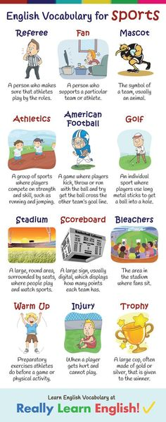 In this lesson, you will learn all the English vocabulary you need to play sports, watch sports and talk about sports. This lesson is great for ESL teachers, students, and tutors. Let's get started!