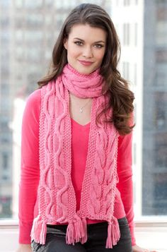 Red Heart® Compassion Scarf by Ann Regis