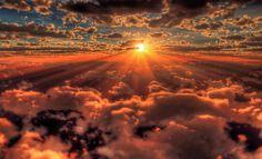 Gods beautiful world. I love Gods beautiful world. I love Gods beautiful world. All Nature, Amazing Nature, Amazing Sunsets, True Nature, Above The Clouds, Beautiful Sunrise, Pics Art, Belle Photo, Pretty Pictures