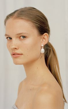 Sophie Bille Brahe Trunkshow   Moda Operandi Jewelry Photography, Beauty Photography, Subtle Makeup, Beauty Shoot, Jewelry Model, Beauty Editorial, Wedding Earrings, Jewelery, Fashion Accessories